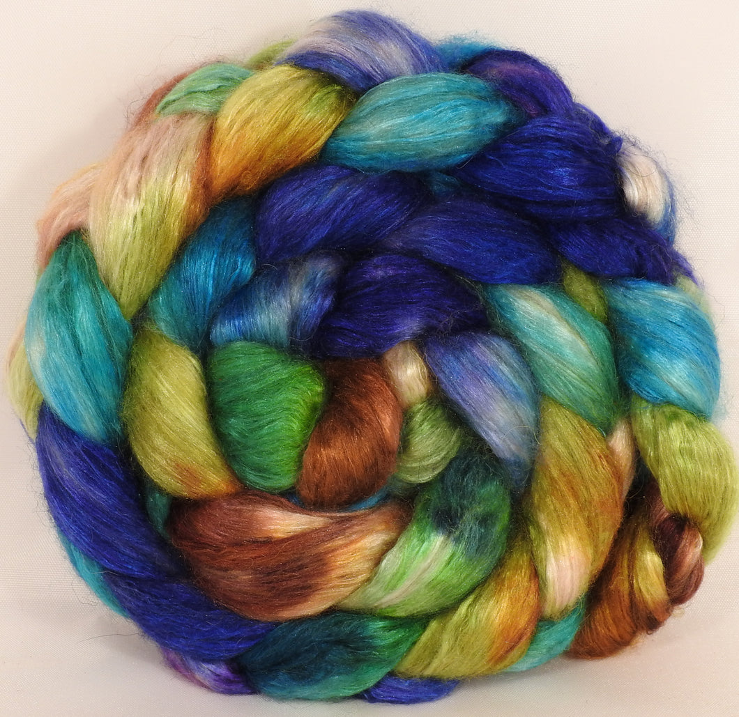 Baby camel/ tussah silk top ( 50/50)-Siren Song- 3.3 oz. - Inglenook Fibers