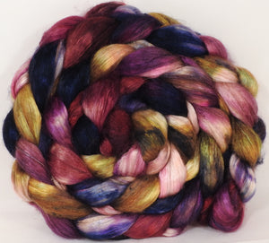 Baby camel/ tussah silk top ( 50/50)-Raisins-4.2 oz. - Inglenook Fibers