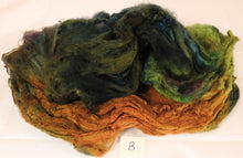 Silk Hankies ( Mawata) for Spinning and Felting