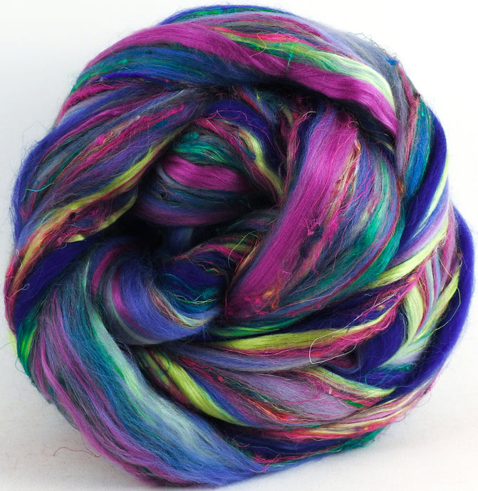 Virginia Bluebells - Superfine Merino / Mulberry Silk / Sari Silk (50/25/25)