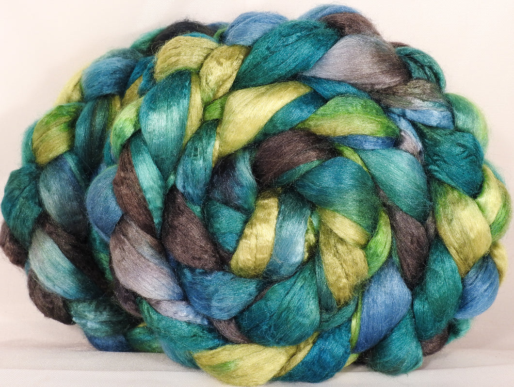 100 % Tussah Silk Top-Splash- 3.45 oz. - Inglenook Fibers
