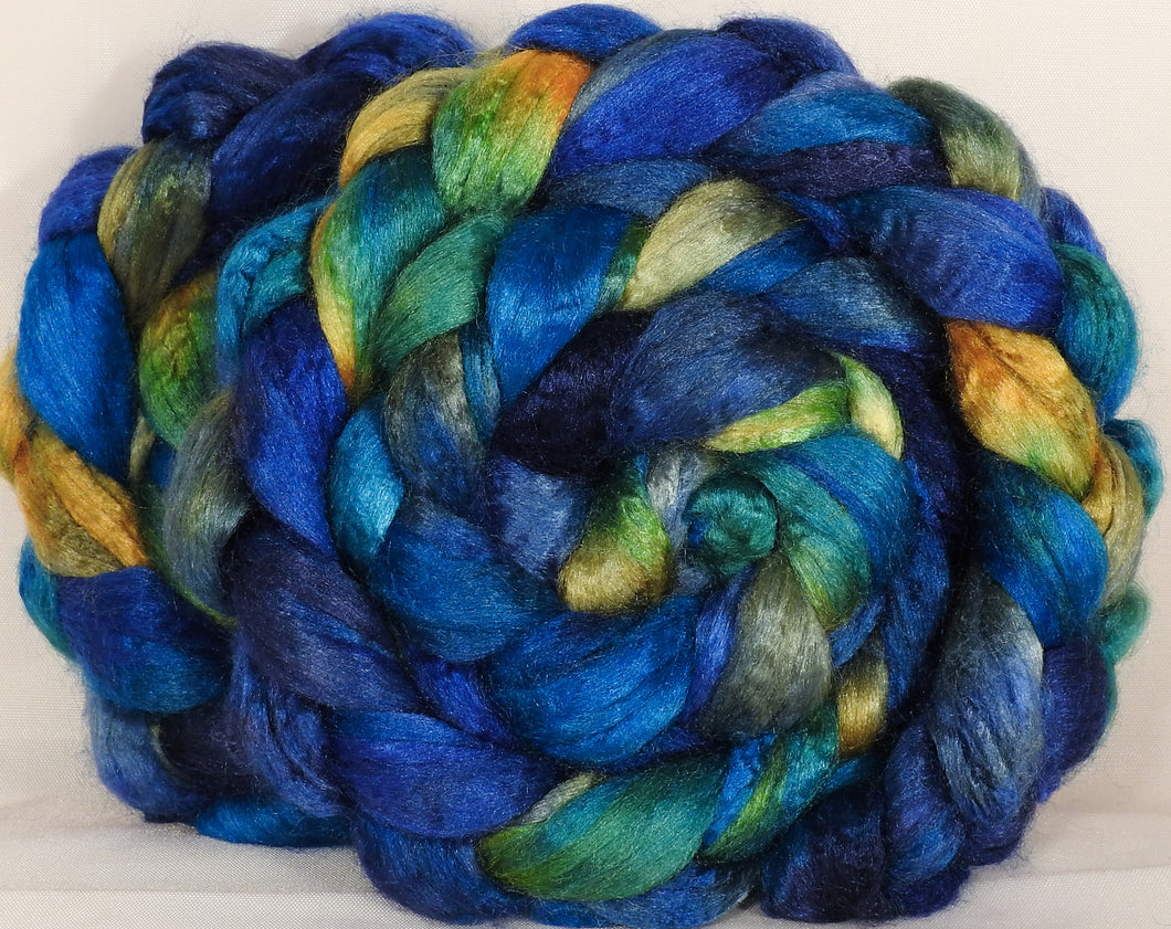 100 % Tussah Silk Top-Tardis- 3.45 oz.