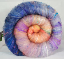 New Beginnings (3.5 oz.)- Roly-Poly Batts- 30% Nash Island fleece, merino, silk, rambouillet, bamboo, silk noil - Inglenook Fibers