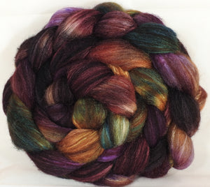 Mixed UK Bfl/ Tussah Silk  (75/25) - 5 oz. - Inglenook Fibers