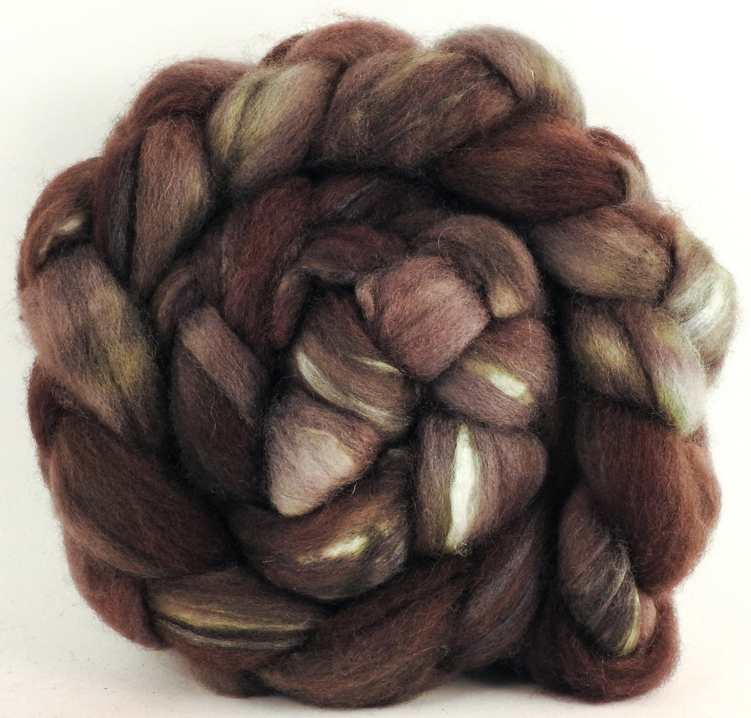 Blue-faced Leicester/ Tussah Silk (70/30) - Rye - (4.7 oz.)