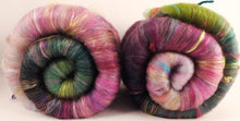 NON-SPARKLE Roly-Poly Batts- Peach Blossom (3.7 oz)- 35% Corriedale fleece, merino, polwarth, silk, bamboo, silk noil