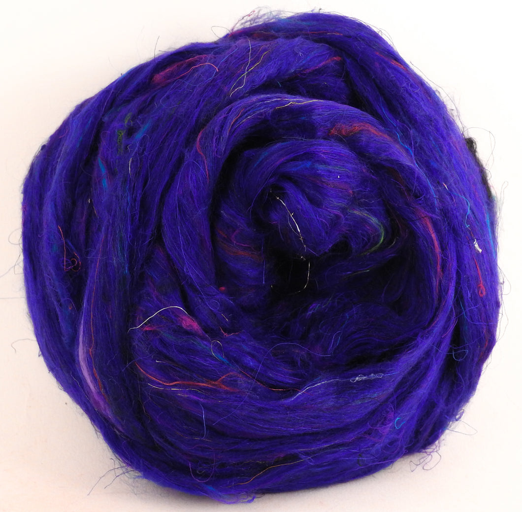 100% Sari Silk Top- Moon River - 1.5 oz.