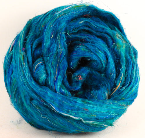 100% Sari Silk Top- Lagoon- 1.5 oz.