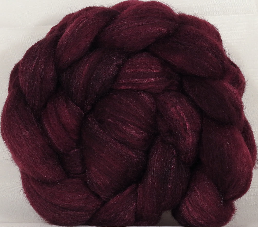 British Southdown/ tussah top (65/ 35) - Black Cherry - 5.1 oz.