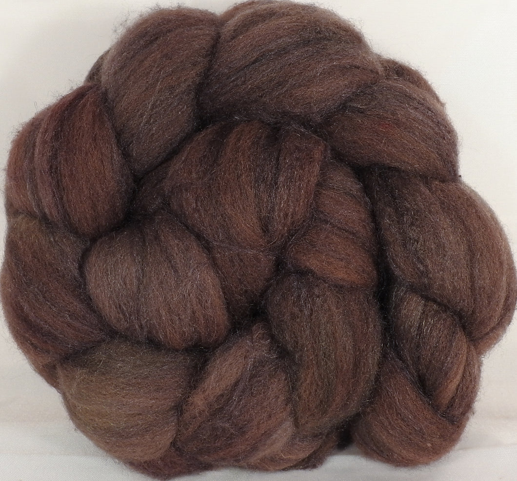 British Southdown/ tussah top (65/ 35) - Rye - 4.5 oz. - Inglenook Fibers