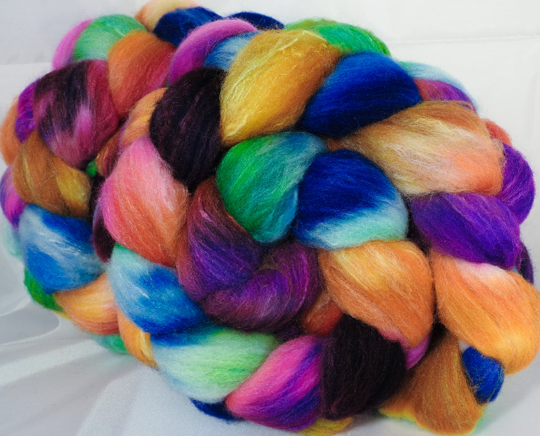 British Southdown/ tussah top (65/ 35) -Crayon Box - 5.7 oz. - Inglenook Fibers