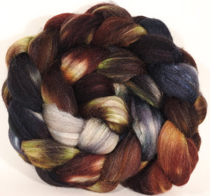 Mixed UK Bfl/ Tussah Silk  (75/25) - The Walrus -  5 oz.
