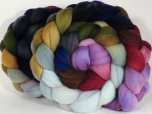Hand dyed top for spinning - Cabbages & Kings - (5.2 oz.) Organic Polwarth