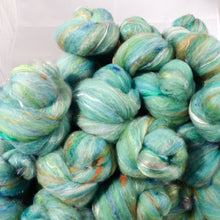 Lady Liberty - Sticklebatts (4.1 oz) - 30% Corriedale fleece; rambouillet, merino, silk, bamboo, silk noil