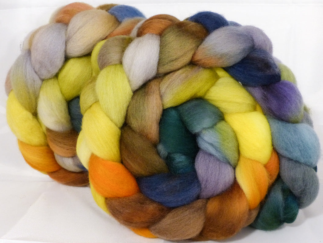 Organic Polwarth Roving (Top) -Golden Chain Tree - 4.7 oz.