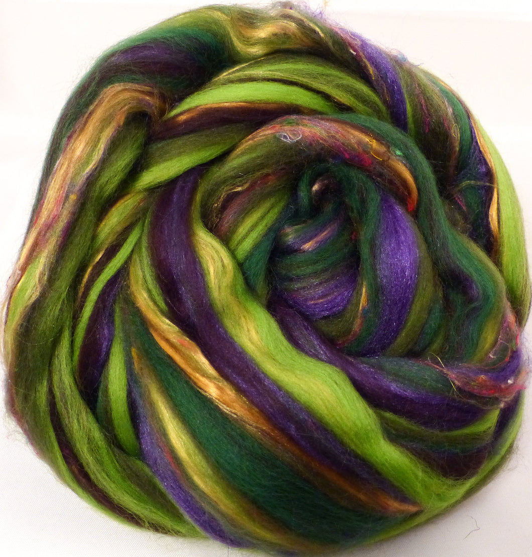So Sari Blend -Forest-  Merino/ Sari Silk / Silk (50/25/25)