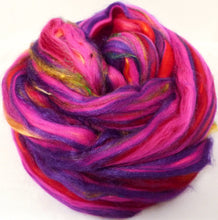 So Sari Blend -Hibiscus-  Merino/ Sari Silk / Silk (50/25/25 )  (2 oz. )