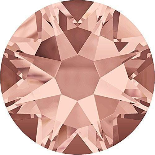 Swarovski® Flatback Crystals Non Hotfix Blush Rose (Pack of 50) - A&A Glitter