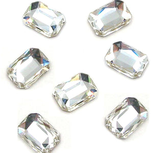 Swarovski® Emerald Cut - Clear/Crystal