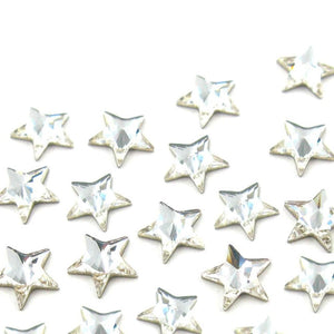 Swarovski® Rivoli Star - Clear/Crystal - 12Pcs