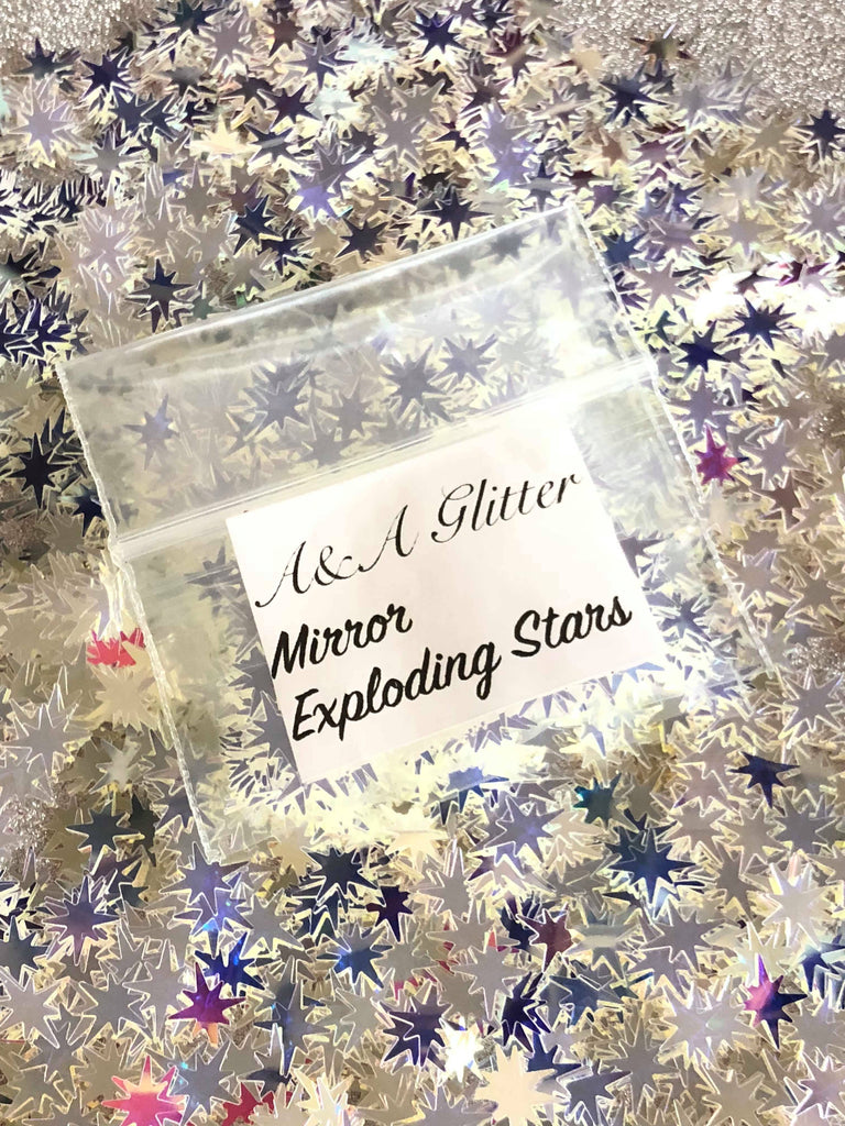 Mirror Exploding Stars - A&A Glitter