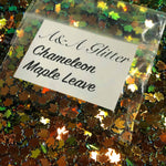 Chameleon Maples Leaves - A&A Glitter