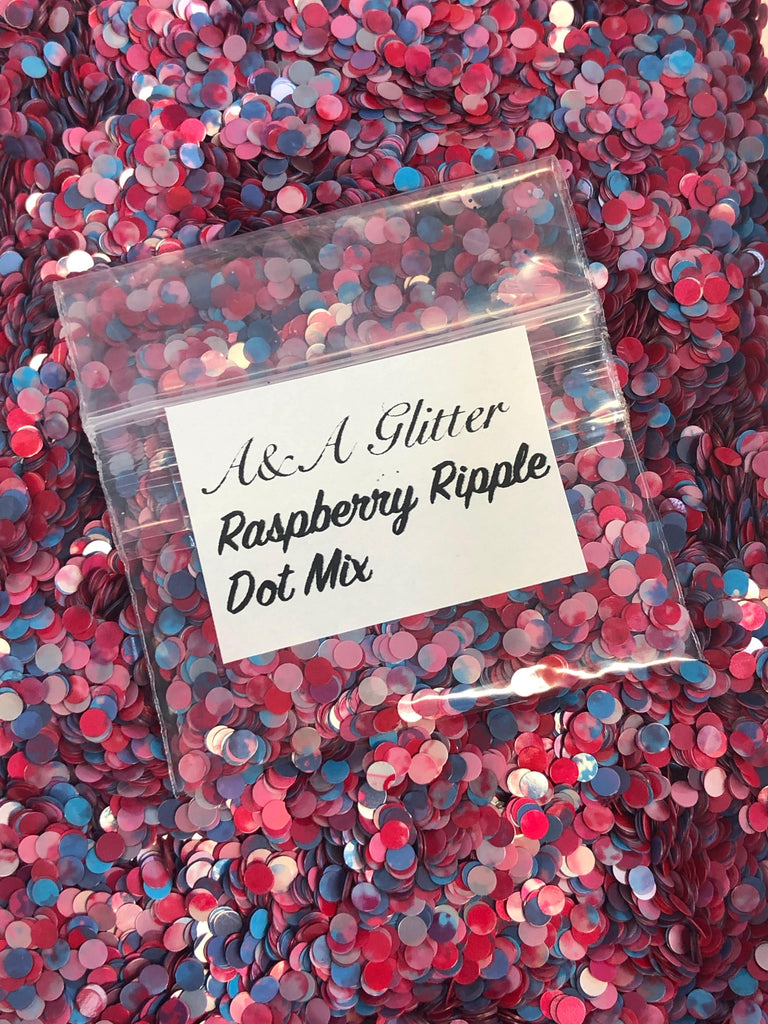 Raspberry Ripple Dots