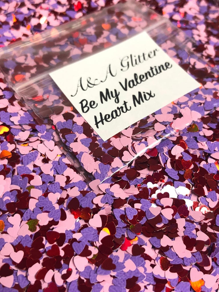 Be My Valentine Heart Mix