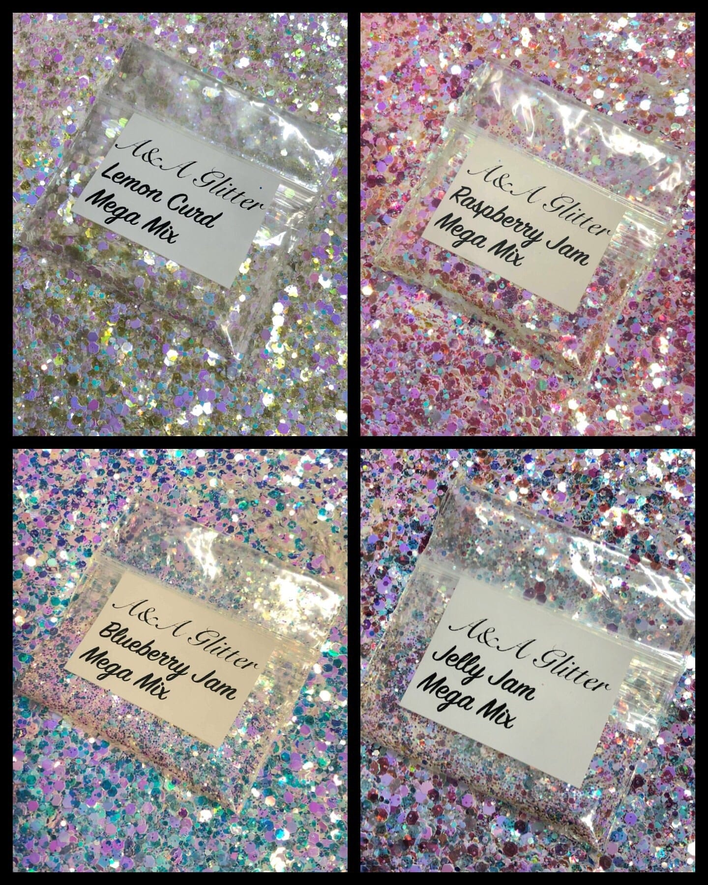 Jam Mix Collection - A&A Glitter