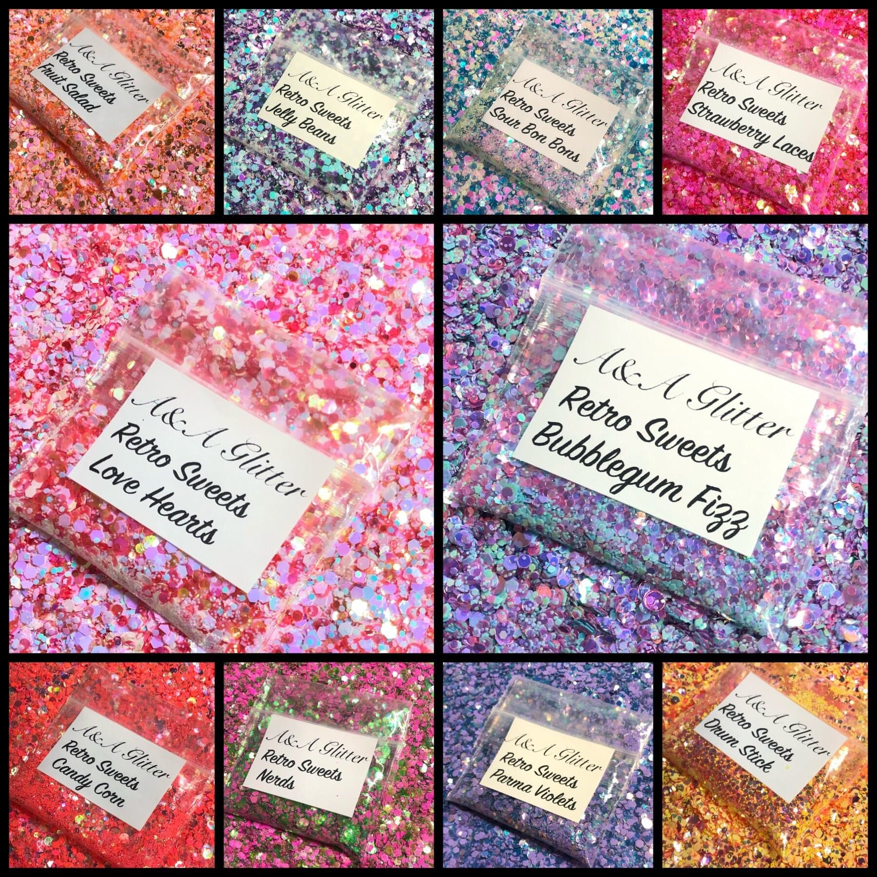 Retro Sweet Collection - A&A Glitter