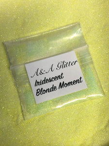 Iridescent Blonde Moment
