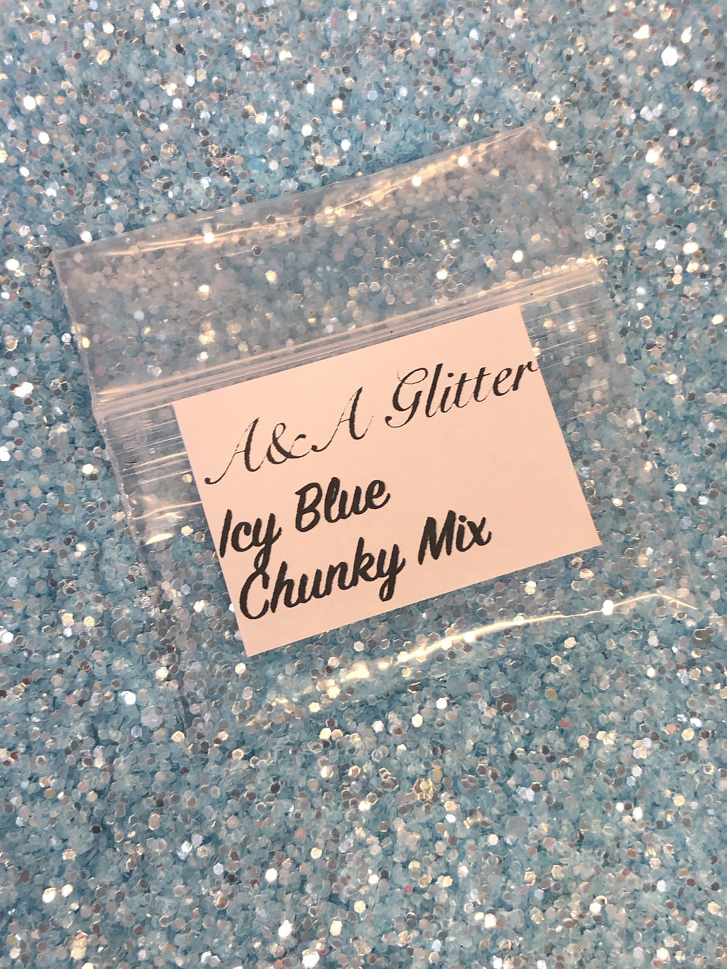 Icy Blue - Chunky Mix