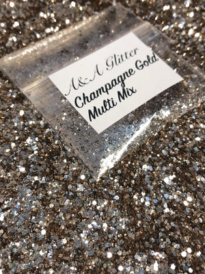 Champagne Gold Multi Mix