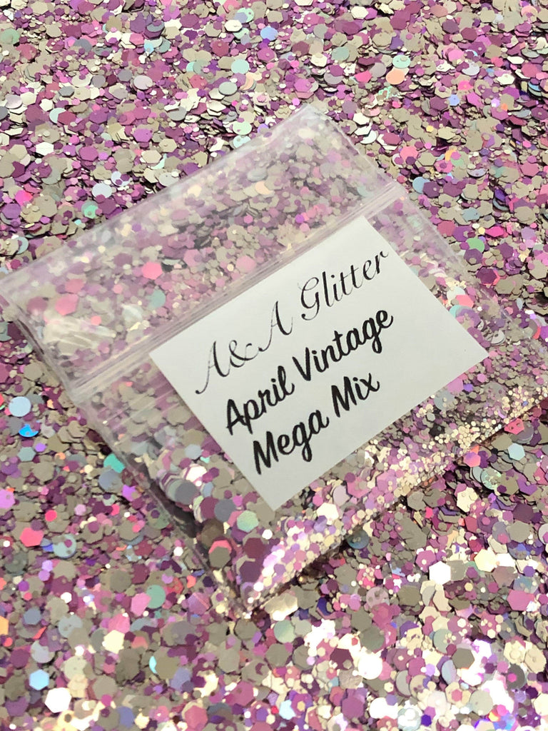 April Vintage Mega Mix - A&A Glitter
