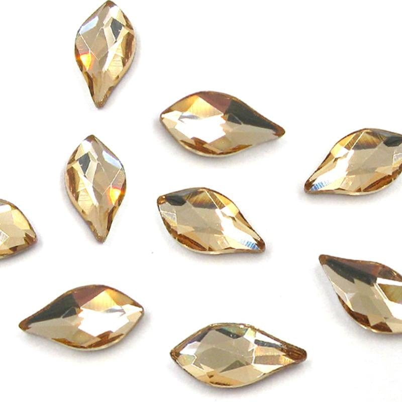 Swarovski® Flame - Light Colorado Topaz