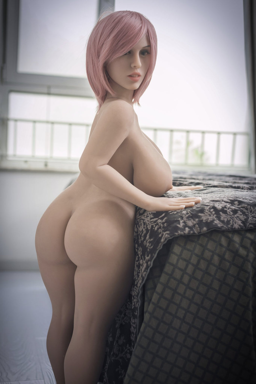 108cm Big Breasts and Butt Pink Hairstyle Doll - Own Pleasures