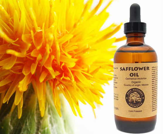 Safflower Seed Oil  Organic (Cold Pressed)
