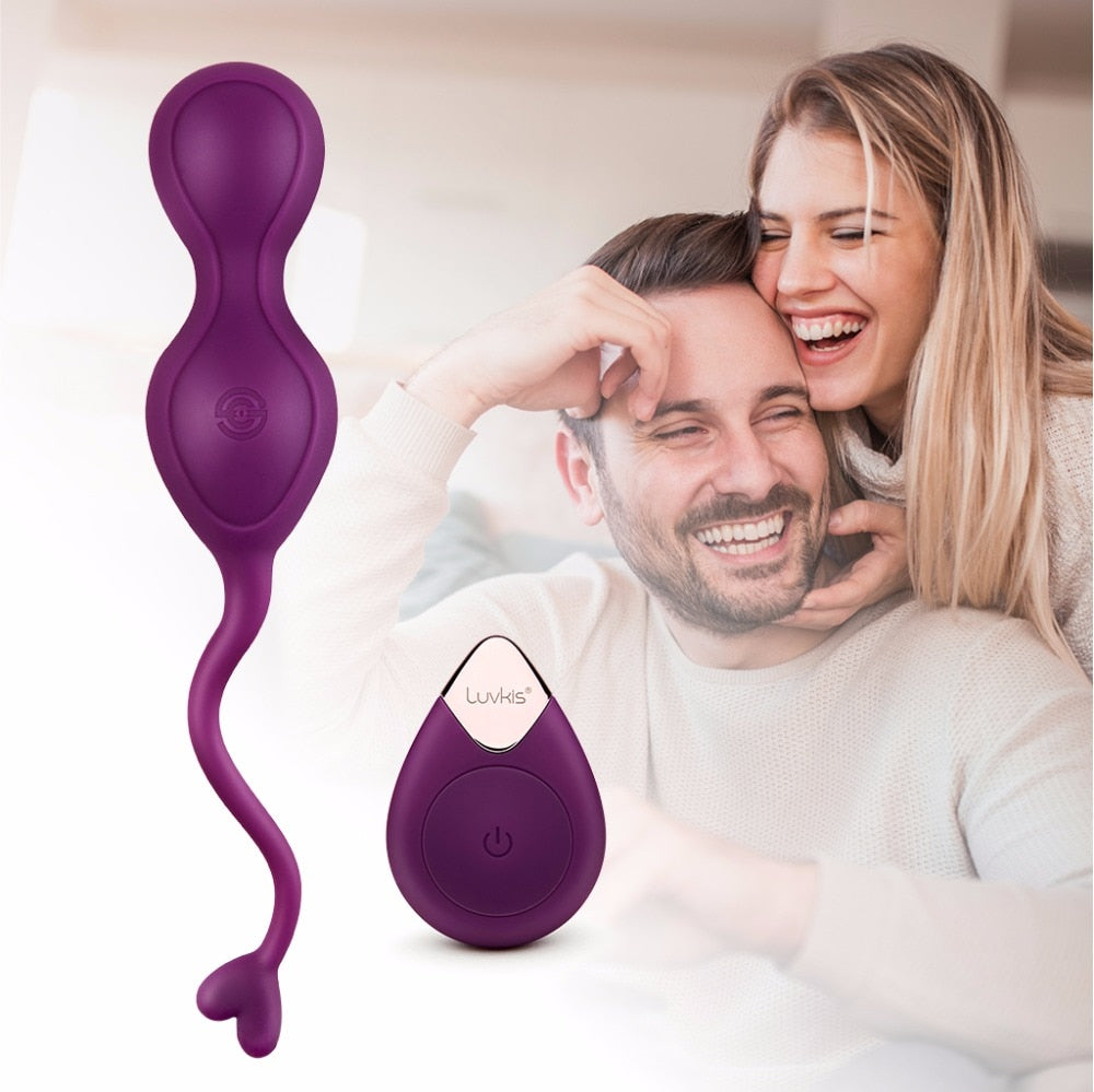 PREMIUM Remote Control Vibrating Balls | 10 Speeds Kegel Balls