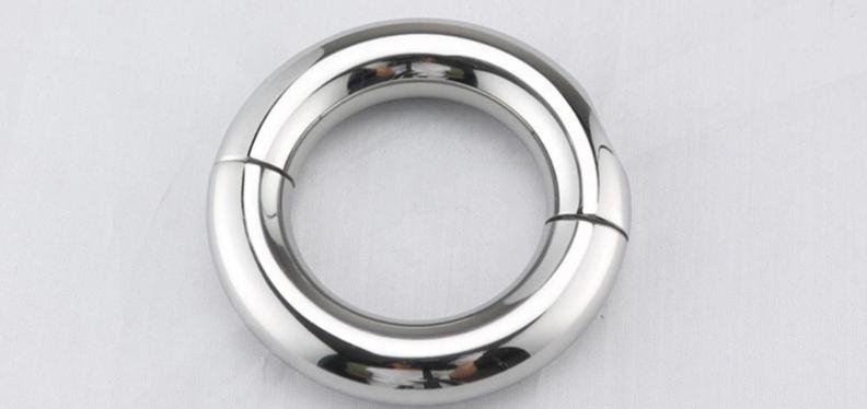 Stainless Steel Penis Ring, 5 Sizes - Own Pleasures