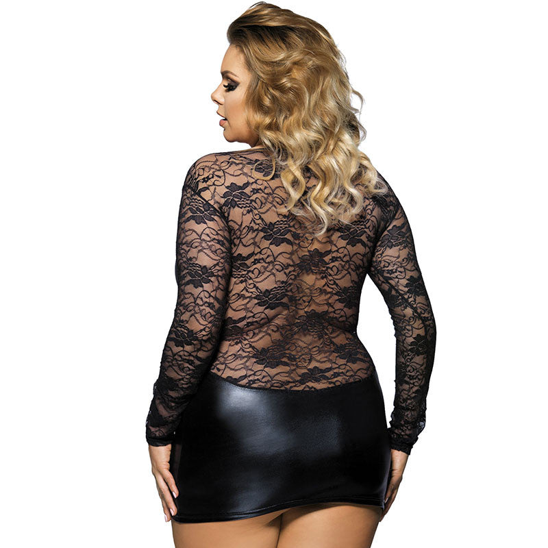 Up to 6XL Sexy Erotic Mini Babydoll Dress - Own Pleasures