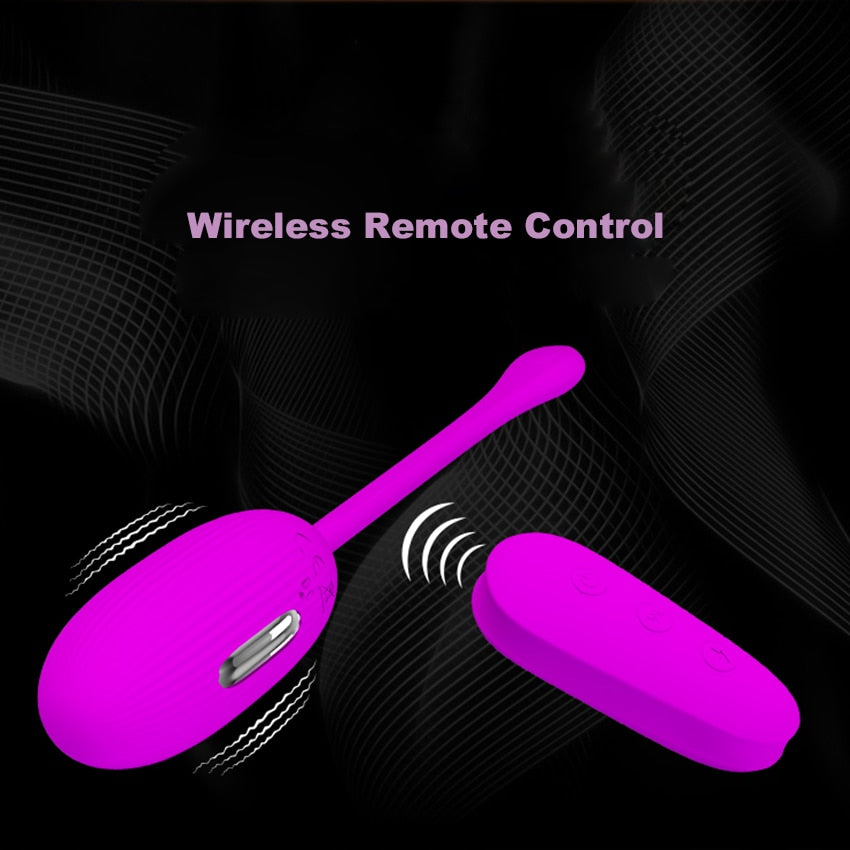 Electric Shock Pulse Vibrating Kegel Ball - Own Pleasures