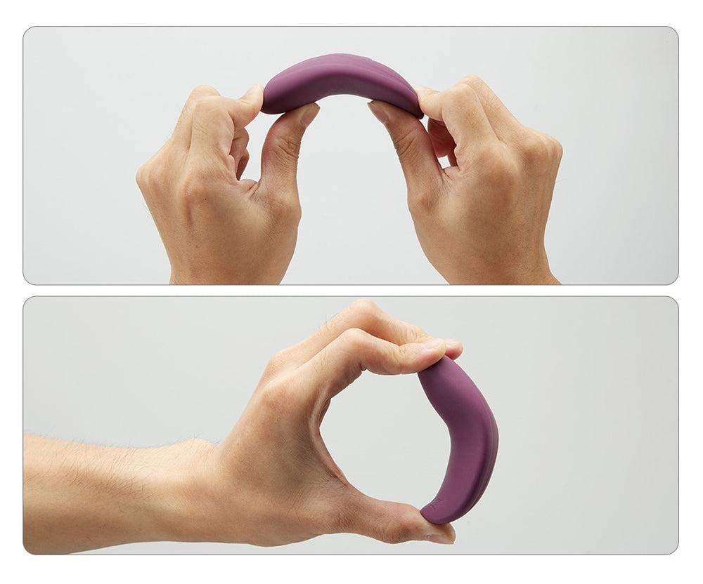 PREMIUM 10 Speed Remote Control Wearable Purple vagina vibrating balls - Own Pleasures