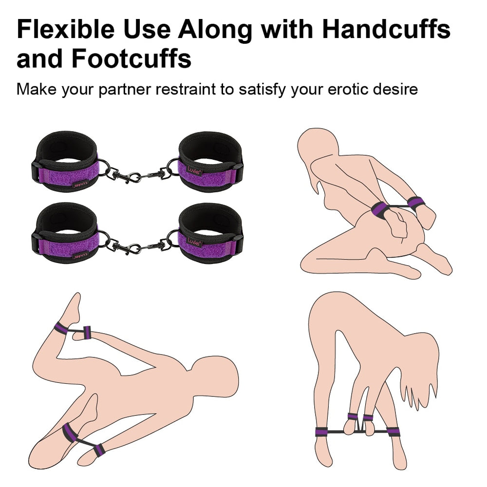 BDSM Bed Restraint Kit
