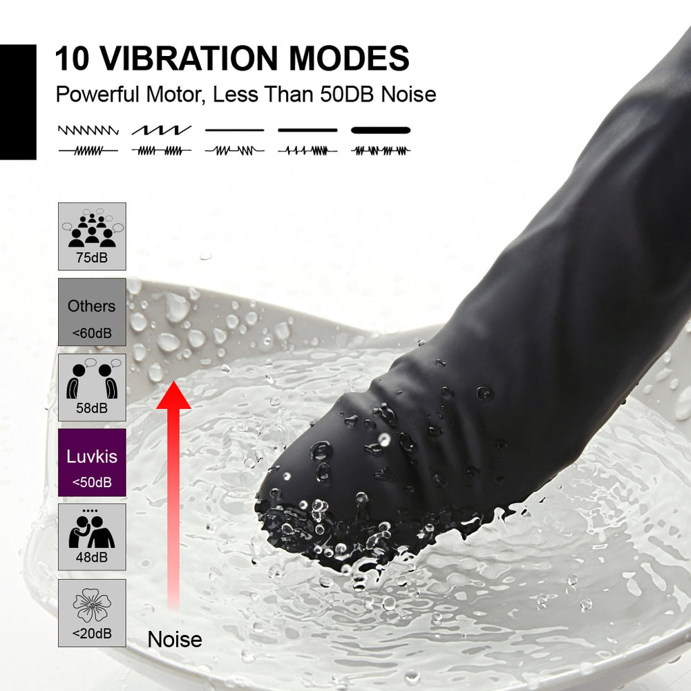 USB 10 Dildo Vibrator For Woman - Own Pleasures