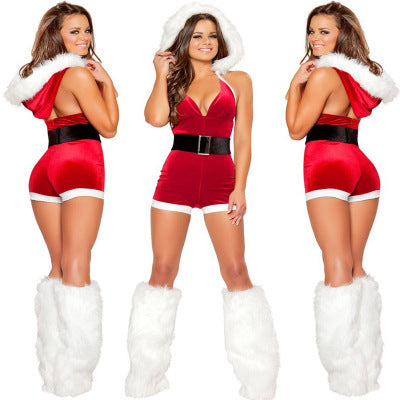 Sexy Santa | Christmas Cosplay Slim Fit Jumpsuit - Own Pleasures