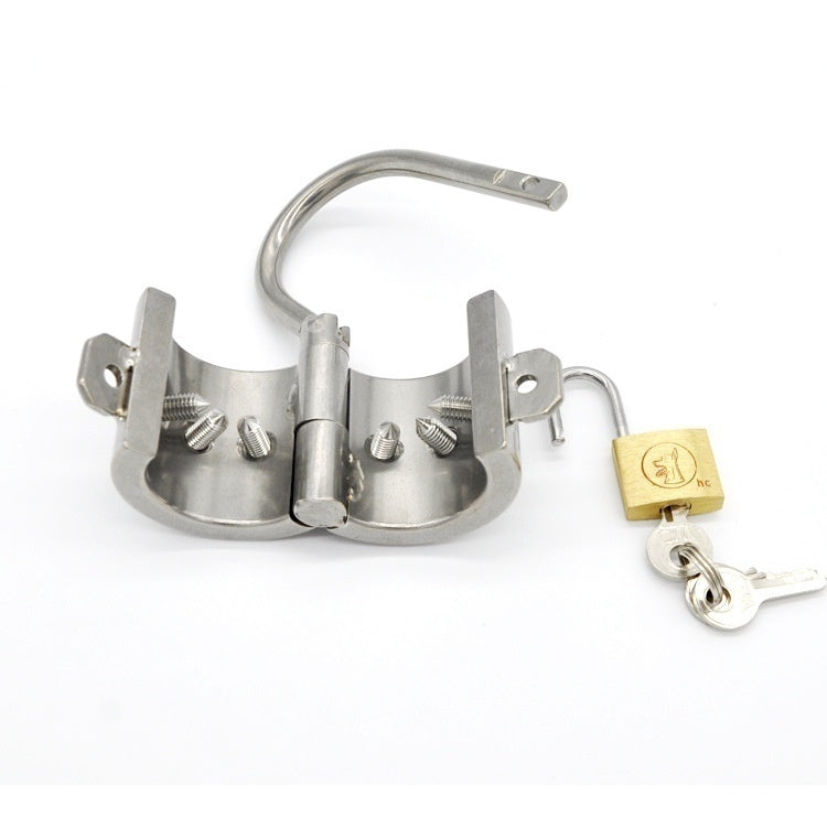 Stainless Steel Chastity Cage and Cock Ring, 3 Types - Own Pleasures
