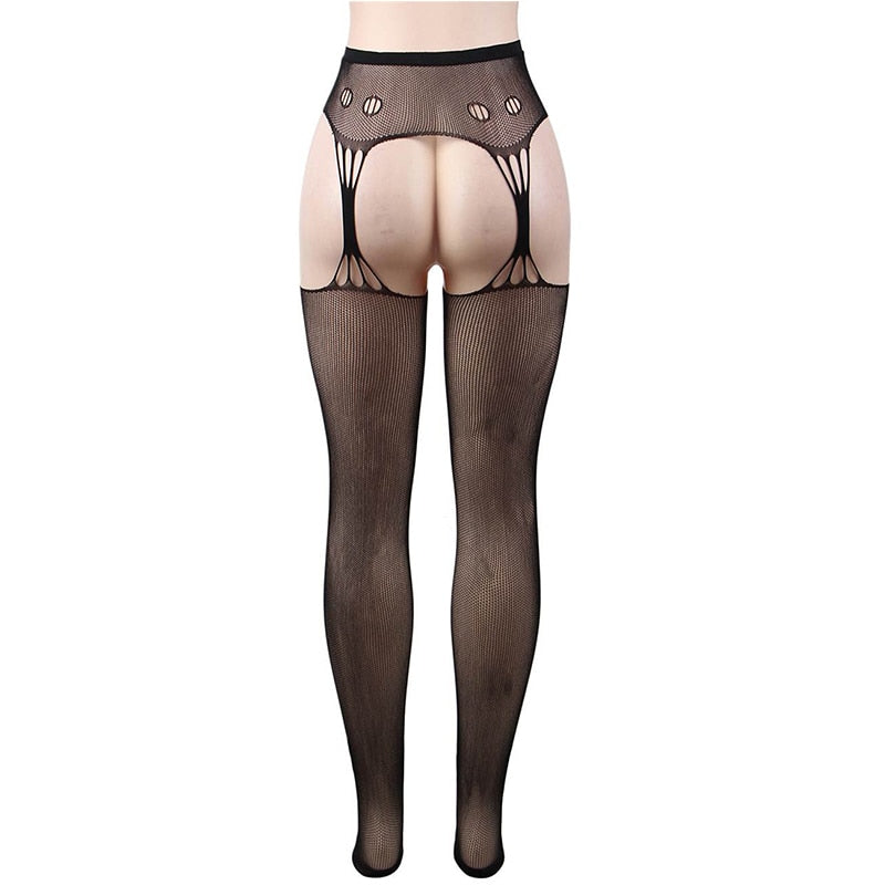 Sexy Open Crotch Fishnet Pantyhose Tights - Own Pleasures
