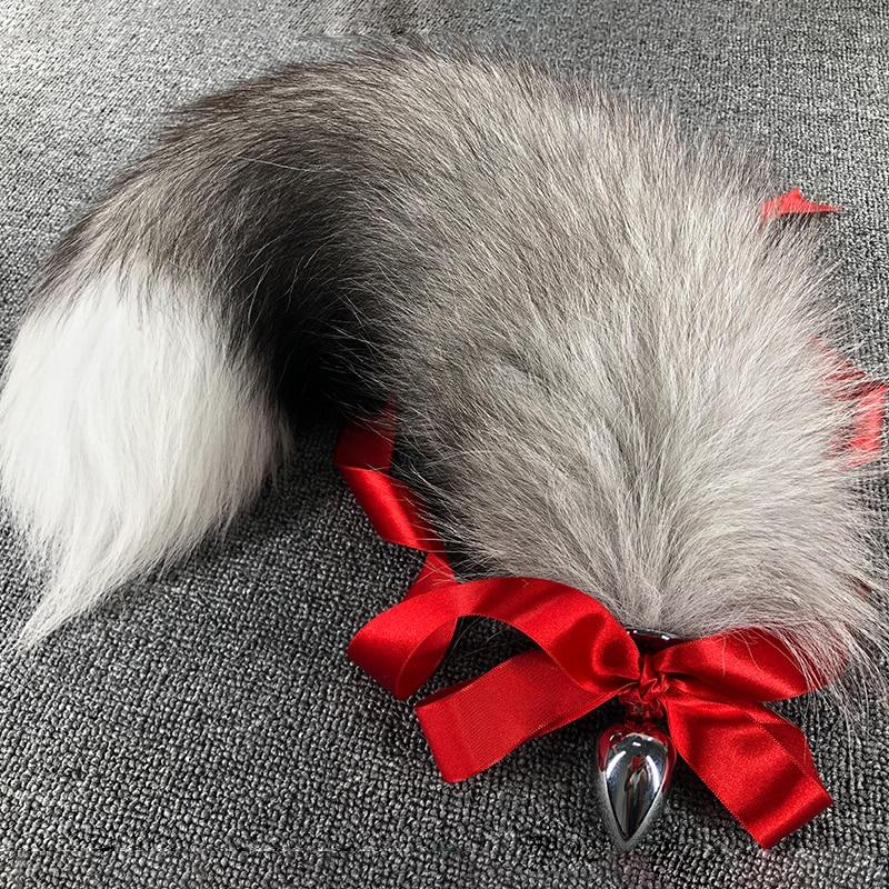 Realistic Fox Anal Plug Tails, 12 Variants - Own Pleasures
