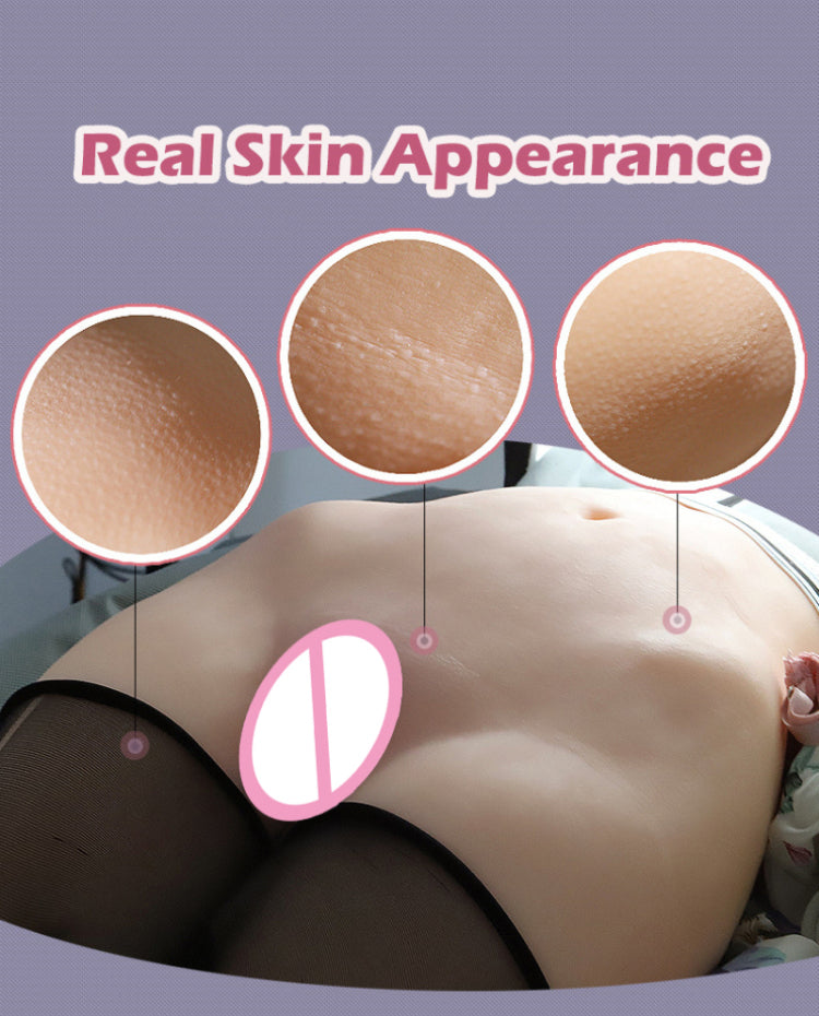 Top Quality 8.5kg 3D Realistic Silicone Female Dual Channel - Own Pleasures