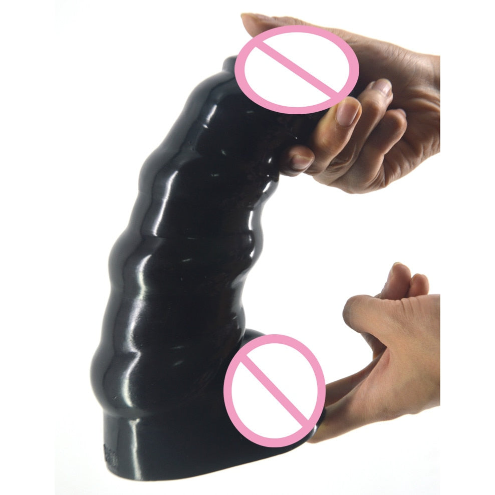 2.76 Inches Thick Dildo Butt Beads, 3 Colors - Own Pleasures